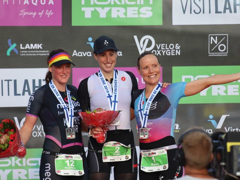 Lahti podium
